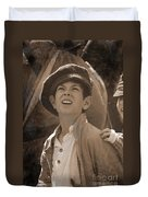 Faces Of War Duvet Cover