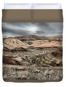 Faded Painted Hills Duvet Cover