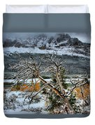 Fading Colors Duvet Cover