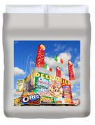Fair Food Duvet Cover