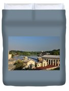Fairmount Waterworks And Dam Duvet Cover