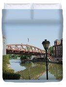 Fairport Lift Bridge Duvet Cover