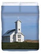 Faith On The Prairie Duvet Cover