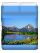 Fall At Oxbow Bend Duvet Cover