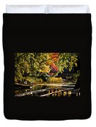 Fall At Tyler State Park Duvet Cover