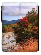 Fall Color In The White Mountains Duvet Cover