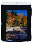 Fall Falls Duvet Cover