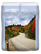 Fall Highway Duvet Cover
