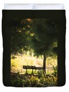 Fall In The Pines Duvet Cover