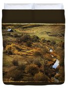 Fall In The Valley Duvet Cover