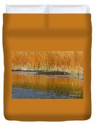 Fall In Yellowstone National Park Duvet Cover