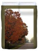 Fall Laneway Duvet Cover