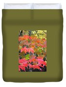 Fall Leaves Filtered Duvet Cover