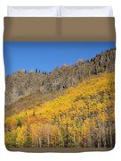 Fall Mountains Duvet Cover