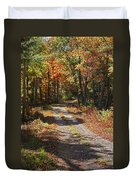Fall On The Wyrick Trail Duvet Cover
