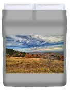 Fall On Whitetop Mountain Duvet Cover