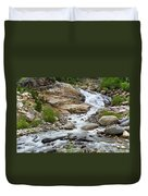 Fall River Falls Duvet Cover
