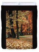Fall Scenery Duvet Cover