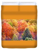 Fall Trees 3 Duvet Cover