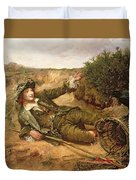Fallen By The Wayside Duvet Cover