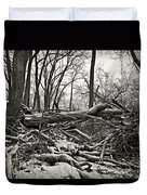Fallen Soldiers Of The Forest Duvet Cover