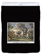 Fallen Timbers Battle Duvet Cover