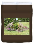 Family Meal Time Duvet Cover