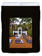 Family Plot Duvet Cover
