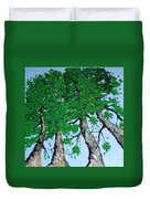 Family Trees Duvet Cover