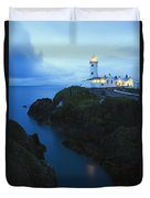 Fanad Head Lighthouse, County Donegal Duvet Cover
