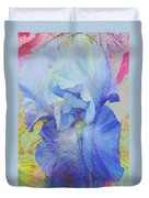 Fanciful Flowers - Iris Duvet Cover