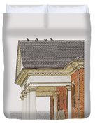 Fancy Arcitecture Duvet Cover