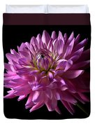 Fancy Dahlia Duvet Cover