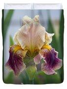 Fancy Iris Dance Ruffles Duvet Cover