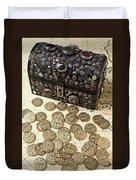 Fancy Treasure Chest  Duvet Cover