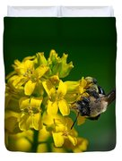 Fanfare For The Common Bumblebee Duvet Cover