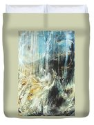 Fantasy Storm Duvet Cover by Linda Sannuti