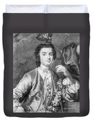 Farinelli (1705-1782) Duvet Cover