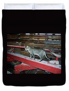 Farm Cat Duvet Cover
