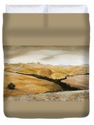 Farm On Hill - Tuscany Duvet Cover