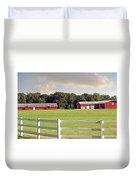 Farm Pasture Duvet Cover