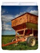 Farmer's Grain Wagon Duvet Cover