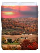 Farmers Of Paint Valley Duvet Cover