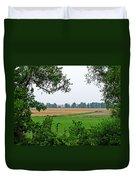 Farmland View Duvet Cover