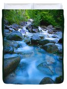 Fast-flowing River Duvet Cover