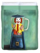 Fast Food Nightmare 2 The Happy Meal Duvet Cover