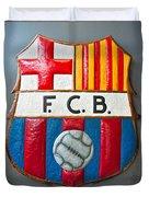 Fc Barcelona Symbol Duvet Cover