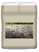 Fell By The Mighty Bark Beetle Duvet Cover