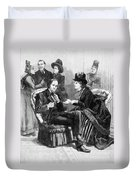 Female Lobbyists, 1888 Duvet Cover
