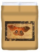 Female Moth Duvet Cover